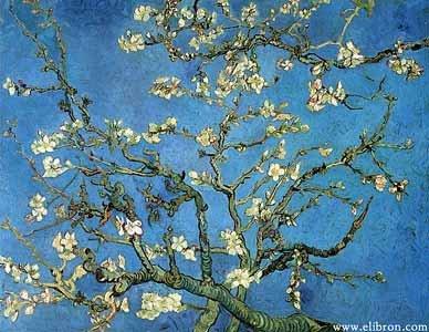 Ван Гог. Ветки цветущего миндаля