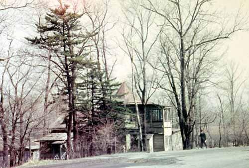 Старое здание лаборатории